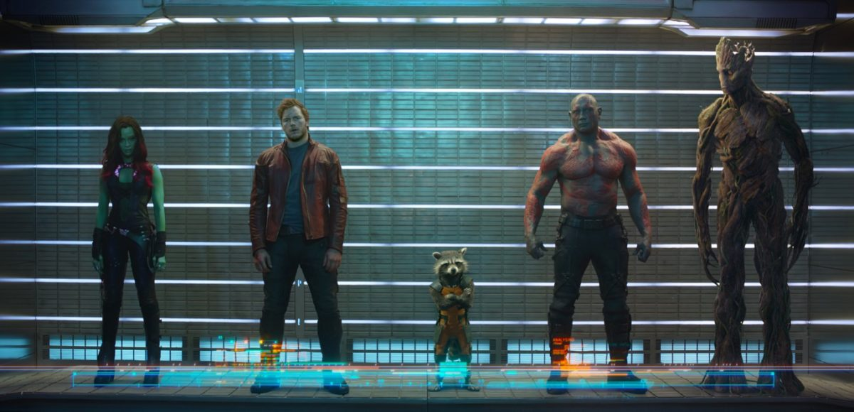 Guardians of the Galaxy 2014 (Стражи Галактики)