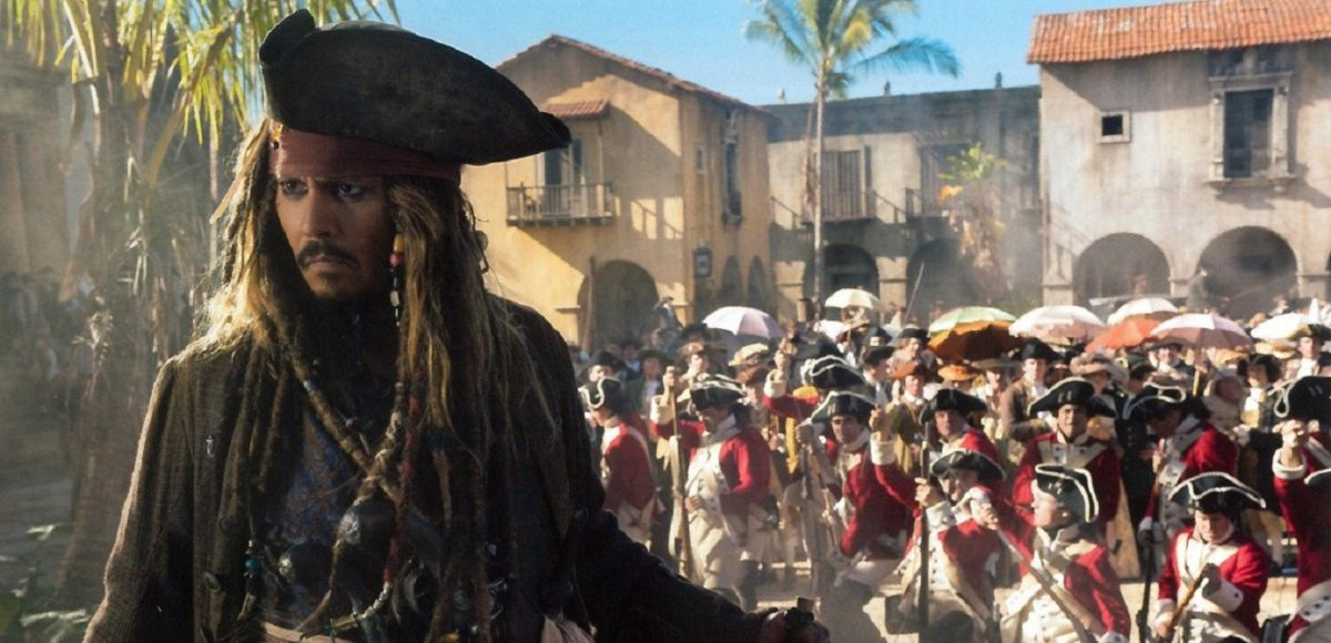 Pirates of the Caribbean Dead Men Tell No Tales 2017 постер